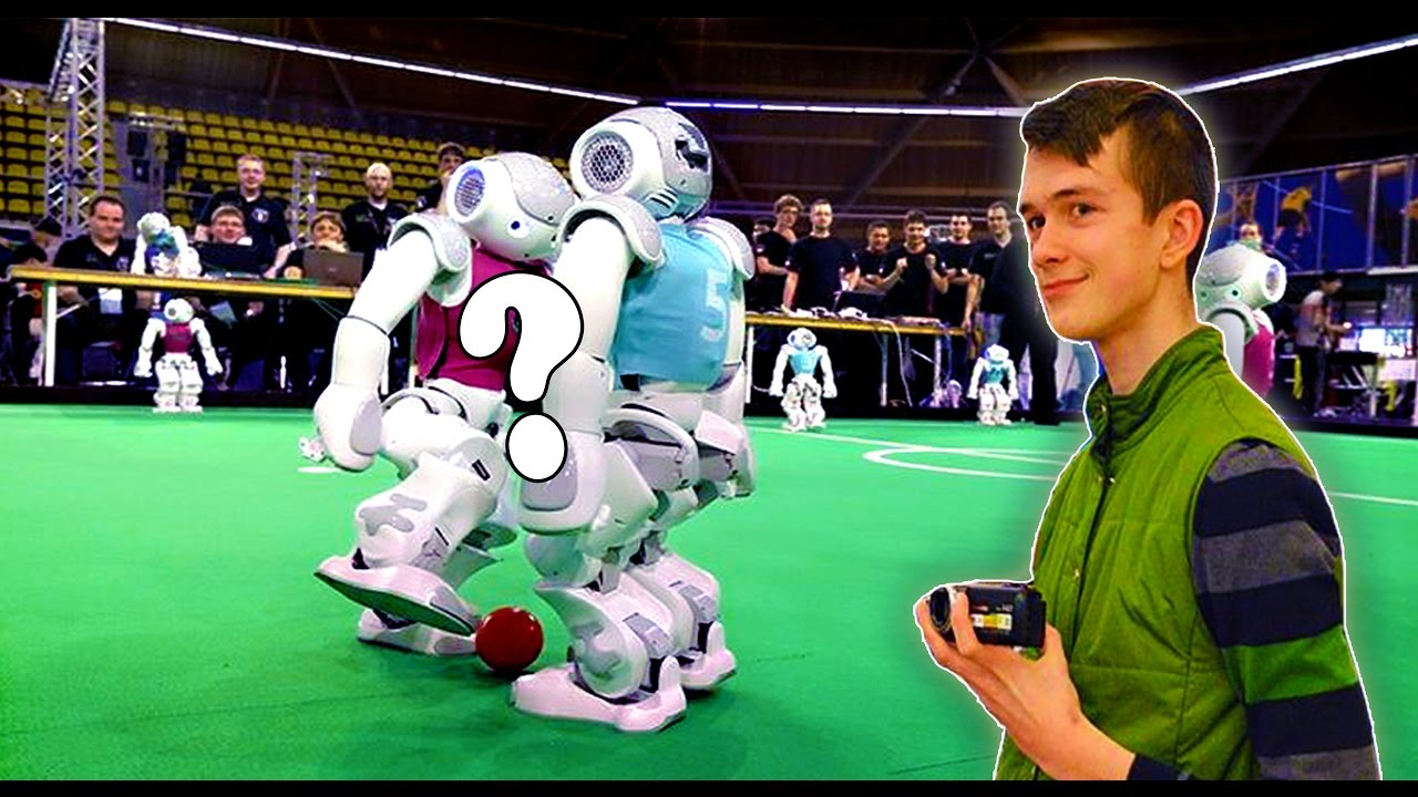 kurti vaizdo įrašą su robotu