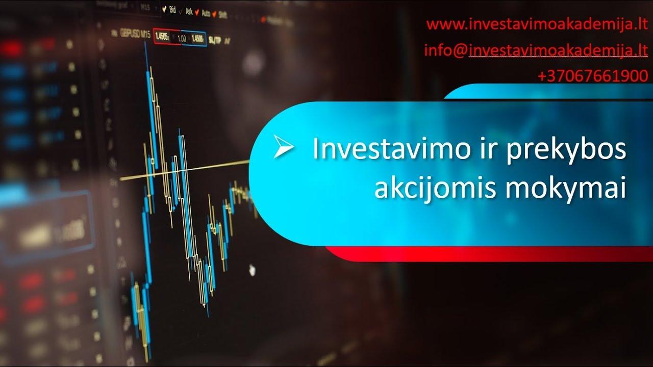 prekyba demo sąskaita akcijų rinkoje